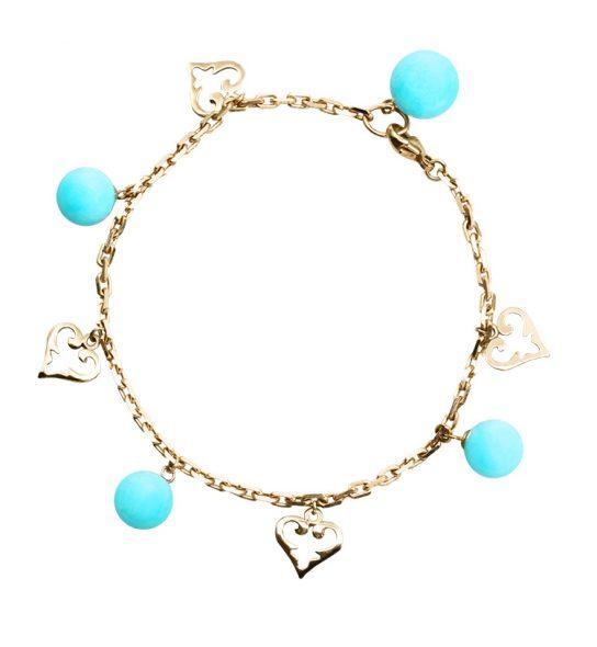 Lässiges Armband im Boho Stil aus hochwertigsten Materialien.